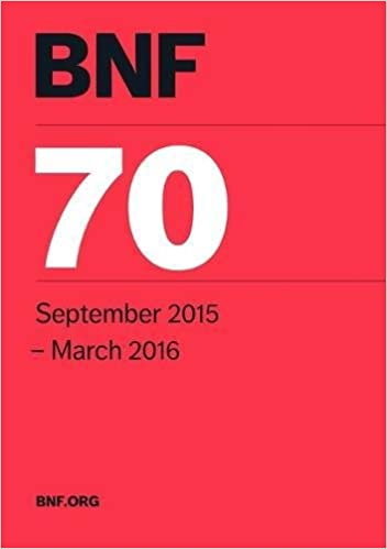 BNF 70 (British National Formulary September 2015-March 2016)
