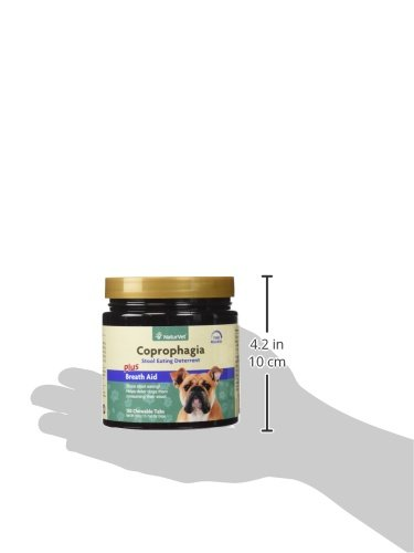 Naturvet Coprophagia Stool Eating Deterrent Plus Breath