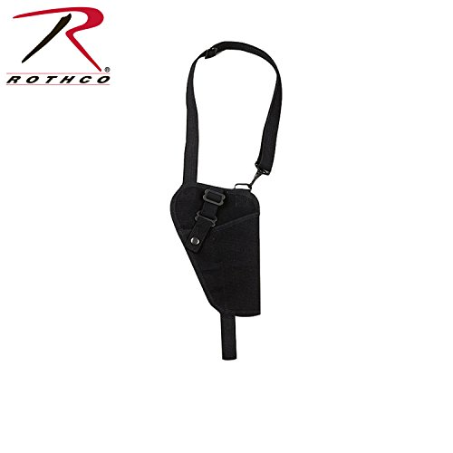 Rothco Canvas Shoulder Holster, Black
