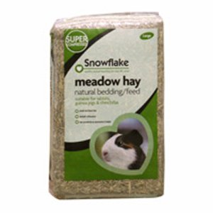 Snowflake Meadow Hay Feed and Bedding, Small