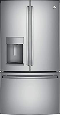 """GE GFE28HSKSS 36"""" French Door Refrigerator with 27.8 cu. ft. Total Capacity,in Stainless Steel"""