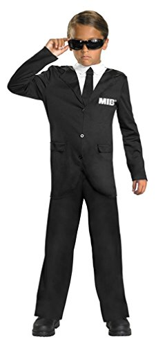 Men In Black 3 Classic Costume, Black/White, - Sunglasses Disguise