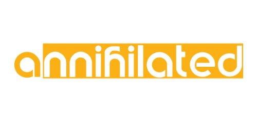 annihilated Decal, sticker, die cut, drifting, racing, jdm ()