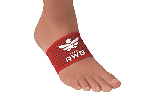 STRUTZ Sole Angel – Cushioned Arch Support (Team RWB), Red, White, & Blue