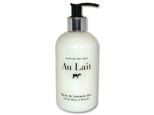 Scottish Fine Soaps Au Lait Bath & Shower Gel 300ml 10.5oz