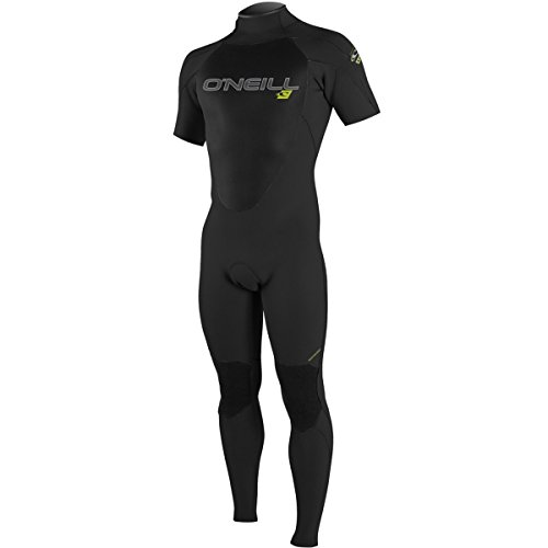 O'Neill Wetsuits Mens 2 mm Epic Short Sleeve Full Wetsuit, Black, Large Tall