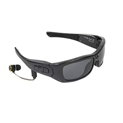 Aceyyk Bluetooth Sunglasses,Camera Full HD 1080P Video Recorder Camera with UV Protection Polarized Lens, Great Gift for Your Family and Friends