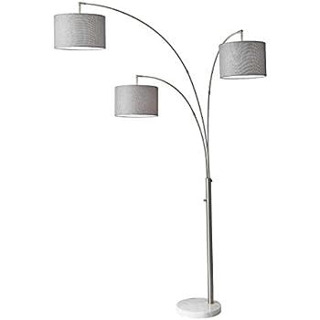 Amazon Com Adesso 3261 22 Starburst 60 Quot Floor Lamp Steel