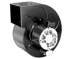 Fasco A1200 Centrifugal Blower with Sleeve Bearing, 1,500/1,400 rpm, 115/230V, 60Hz, 8-6.8/4-3.4 amps - Dual Leaf Blower