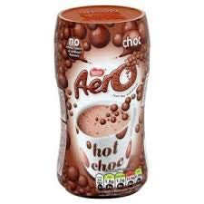 Nestle Aero Hot Chocolate mix 288g Jar Imported from Ireland