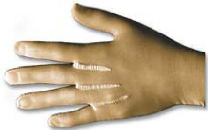 BSN Medical/Jobst 100584 Medicalwear Glove, Regular, Large