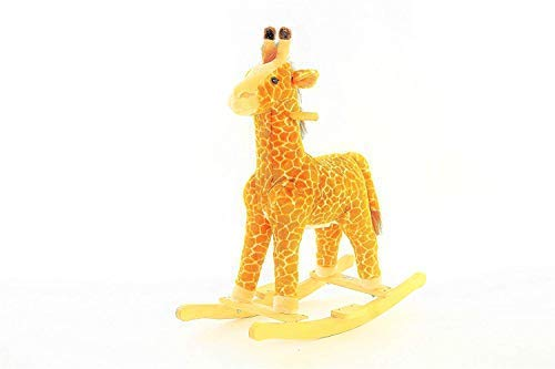 - DanyBaby Ultra Soft Rocking Animal Toy Rocking Plush Giraffe Ride On-ASTM Safety Approved