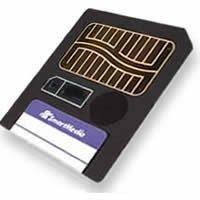 128MB Smart Media Flash Card (
