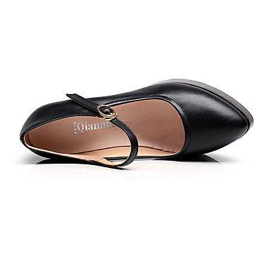 Noir Printemps cm Cuir Chaussures 5 à 7 Talon 9 Confort Talons Décontracté Automne à 5 Confort LvYuan Gros Femme black ggx qwg0HnYOS