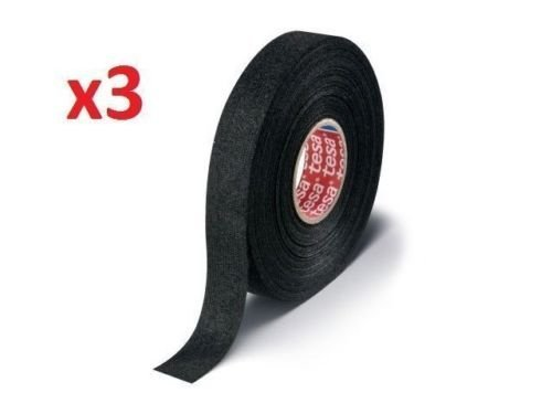 Tesa 51608, 25m x 19mm adhesive wiring cloth tape original ISOBAND 3 pcs pack