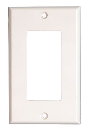 Adaptiplate White Decora Wall Plate Cover - Single Gang