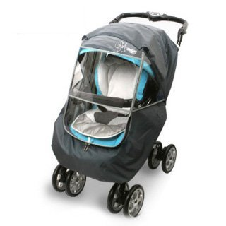 Manito Elegance Plus Stroller Weather Shield & Rain Cover – Grey