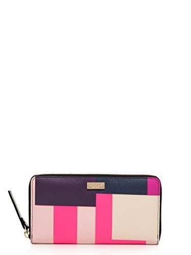 Kate Spade Grant Street Neda Continental Zip Wallet, Colorblock Party by Kate Spade New York