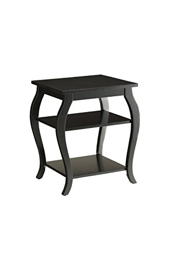 Acme Furniture 82826 Becci End Table, One Size, Black Douglas Accent Side Table