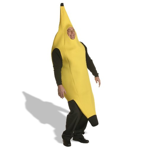Deluxe Banana Adult Costume - Plus -