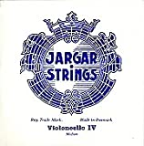 Jargar Viola String Set - 4/4 size - Medium Gauge