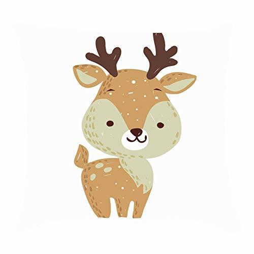 Christmas Season Xmas 2017 Nature Throw Pillow Case Square Soft Cushion Cover for Sofa 18x18 inch -