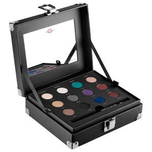 Make up for Ever Studio Case a Set of 12 Artist Shadows, a Step-by-step Guide, and a Full-size of the Artist Liner for Creating Four Holiday Eye Looks.