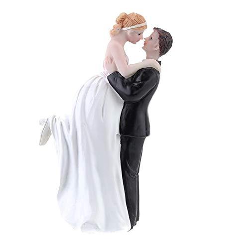(Bride Groom Wedding - Wedding Favor Groom Bride Sweet Hug Romantic Love Couple Figurine European Style Cake Pers Dolls - Columns Curtains Navy Lights Bulk Holder Sets Green Grey Royal Items G)