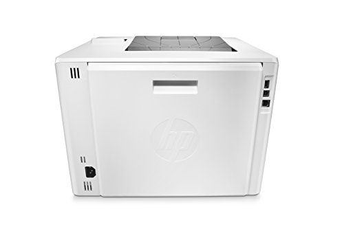 HP LaserJet Pro M452dn Color Laser Printer with Built-in Ethernet & Double-Sided Printing, Amazon Dash Replenishment ready (CF389A) 4 FEATURES DESIGNED FOR YOUR BUSINESS: color laser printer, 2-line display with keypad, duplex printing, built-in Ethernet (no wireless) PRINT AT BUSINESS SPEED: Print up to 28 pages per minute with this wireless laser printer. First page out in as fast as 8.9 seconds for black, and 9.5 seconds for color. SOLID SECURITY: Keep printing safe from boot up to shutdown with security features that guard against complex threats.