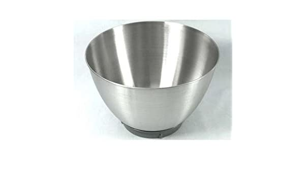 cuenco de acero inoxidable sin manillas para robot de cocina Kenwood KM282 Prospero: Amazon.es: Hogar