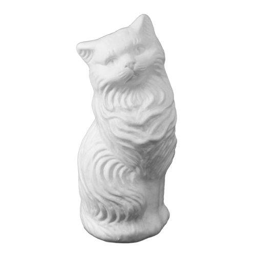 white-kitty-cat-money-bank-large-blow-mold-classic-retro-design-by-fantazia-marketing