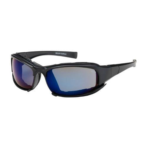 cefiro-250-ce-10093-full-frame-safety-glasses-with-black-frame-rubber-foam-padding-blue-mirror-lens-
