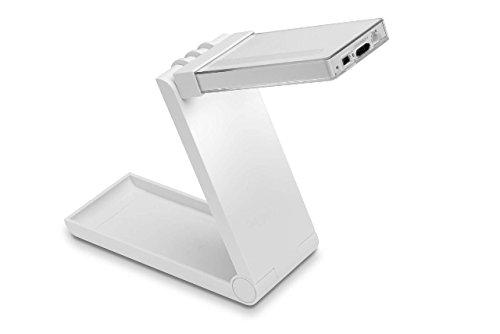 Lampada con luce a led wireless snooze&go bianco: amazon.it
