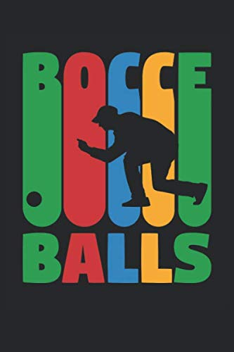 Bocce Book - Bocce Notebook - Bocci Training Journal - Gift for Bocce Balls Player - Bocce Scoring Book: Medium College-Ruled Journey Diary, 110 page, Lined, 6x9 (15.2 x 22.9 cm)