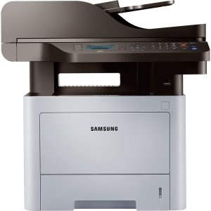 Samsung ProXpress SL-M4070FR Laser Multifunction Printer - Monochrome - Plain Paper Print - Desktop - Copier/Fax/Printer/Scanner - 42 ppm Mono Print - 1200 x 1200 dpi Print - 42 cpm Mono Copy LCD - 1200 dpi Optical Scan - Automatic Duplex Print - 300 shee