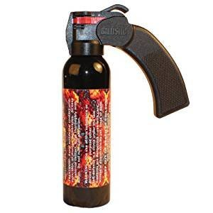 WildFire 9oz Pepper Spray 18% Pistol Grip by Safety Technology