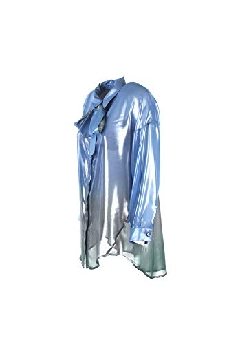 19 2018 Chn7w20 Xs Donna Autunno Inverno Celeste Camicia Imperial waq78