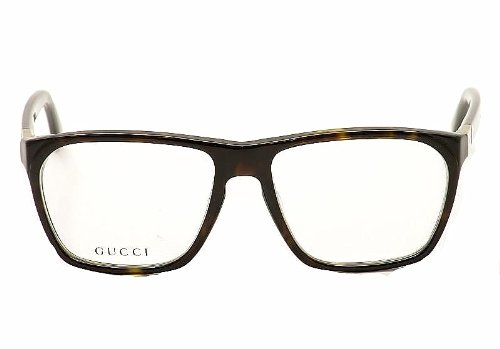0d007ce396e Gucci Glasses 1005 086 Tortoise 1005 Wayfarer Sunglasses  Amazon.co.uk   Clothing
