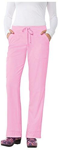 Mariposa Shoe (KOI Mariposa Women's Maria Drawstring Waistband Cargo Scrub Pant Medium Pink Sachet)