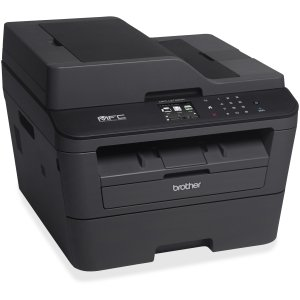 Brother MFC-L2740DW Laser Multifunction Printer - Monochrome - Plain Paper Print - Desktop - Copier/Fax/Printer/Scanner - 32 ppm Mono Print - 2400 x 600 dpi Print - 32 cpm Mono Copy - Touchscreen LCD - 600 dpi Optical Scan - Automatic Duplex Print - 250 s