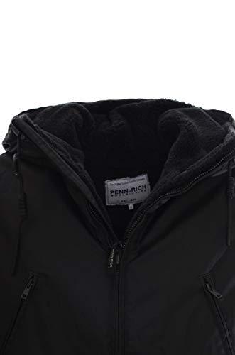 Slim Penn Giubbotto Parka Black By Uomo Woolrich Sfoderabile rich Cerato 6w16r8