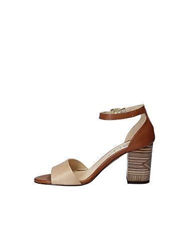 Sandalo 6088 Tacco Mally Donna 41 Marrone OZ5nqwg