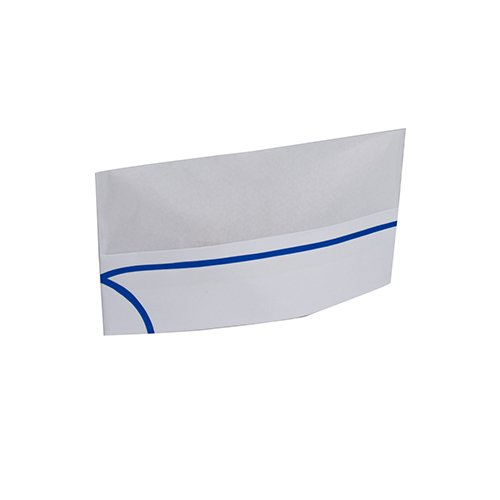 Royal Blue Striped Disposable Overseas Caps, Package of 100 (Chef Hats In Bulk compare prices)