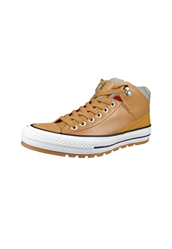 Converse Chucks 157504C Braun Chuck Taylor All Star Street Boot - Hi Dark Sugar Black Raw Sugar Black