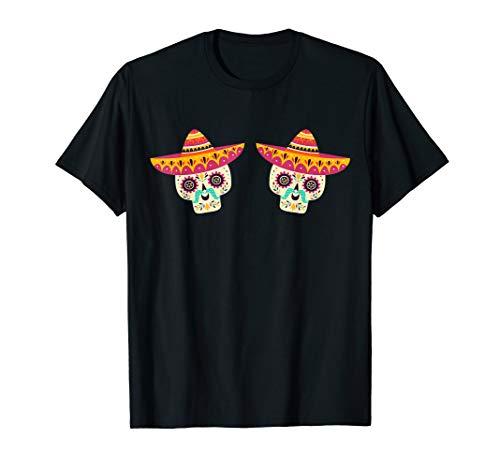 Sombrero Boobs TShirt Cinco de Mayo Mexican Food Drink Party ()