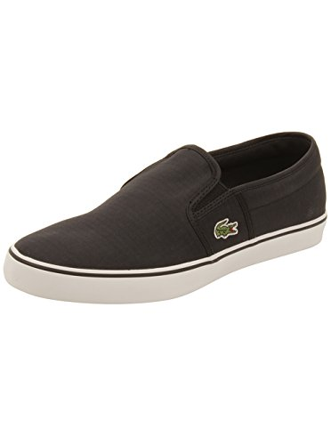 Lacoste Womens Gazon 316 Sneakers in Black 9.5 W US
