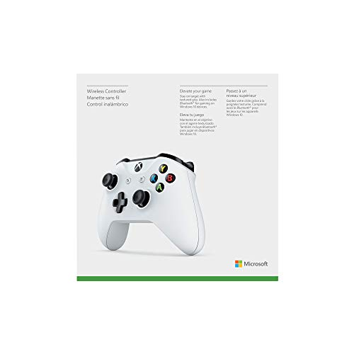 Microsoft Official Xbox Wireless White Controller