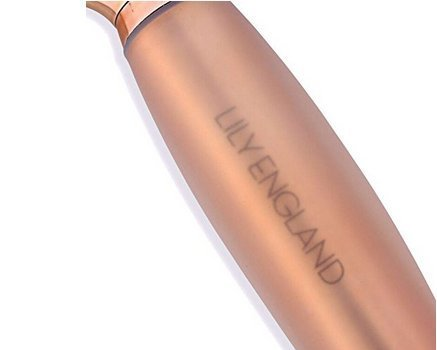 Lily England Paddle Brush Best For Detangling Straightening Hair And Blowdrying Rose Gold Hairbrush