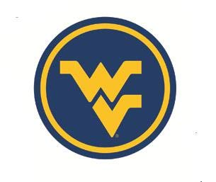 3 Inch WV Logo Decal WVU West Virginia University Mountaineers Removable Wall Sticker Art NCAA Home Room Decor 3 by 3 - Logo Virginia Wall