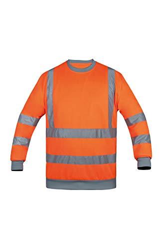 High-Viz Orange XL Korntex KXSWOXL Sweatshirt Mixte